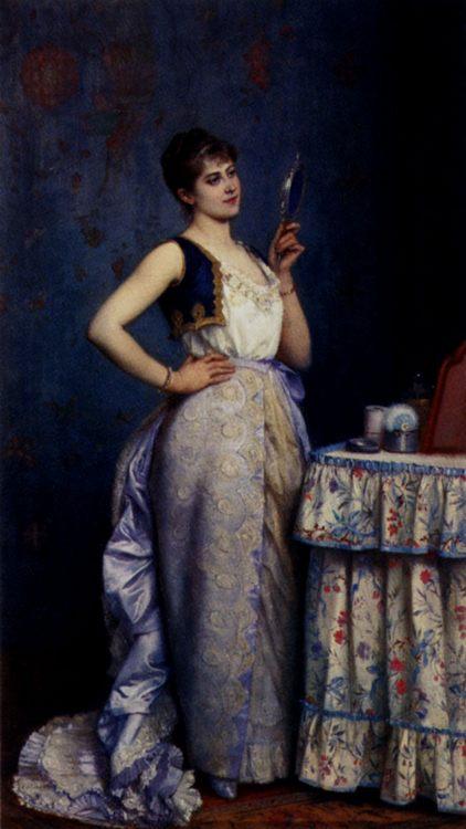 Preparing For The Ball :: Auguste Toulmouche - Balls and receptions ôîòî