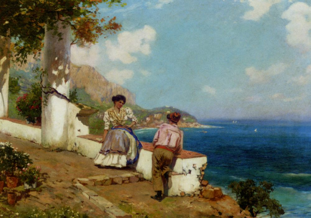 Courting Couple Naples :: Carlo Brancaccio - Coastal landscapes ôîòî