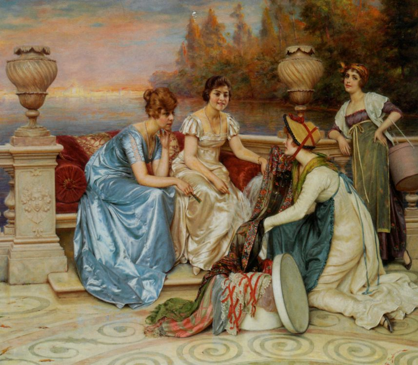 Choosing the Finest :: Frederic Soulacroix  - Romantic scenes in art and painting фото