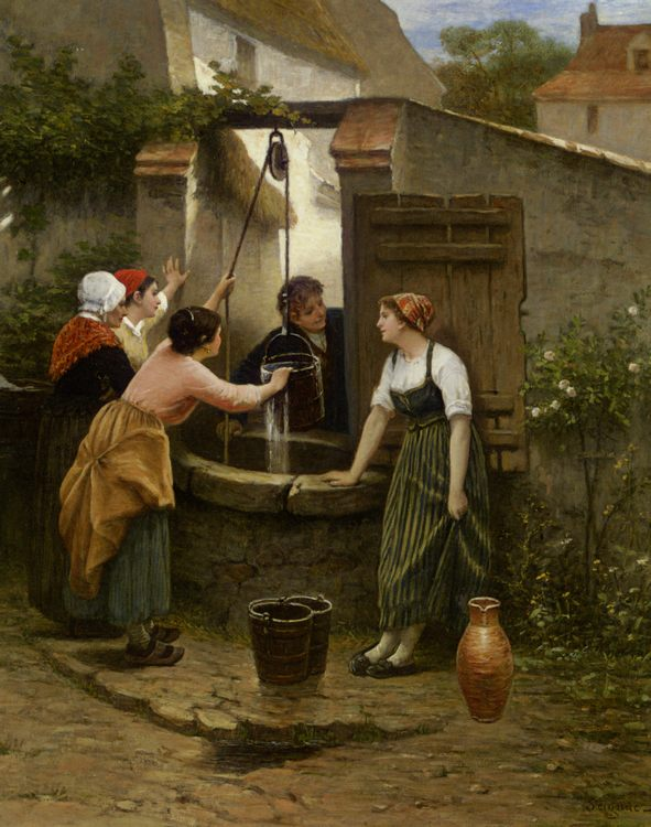 By The Well :: Guillaume Seignac - Village life фото