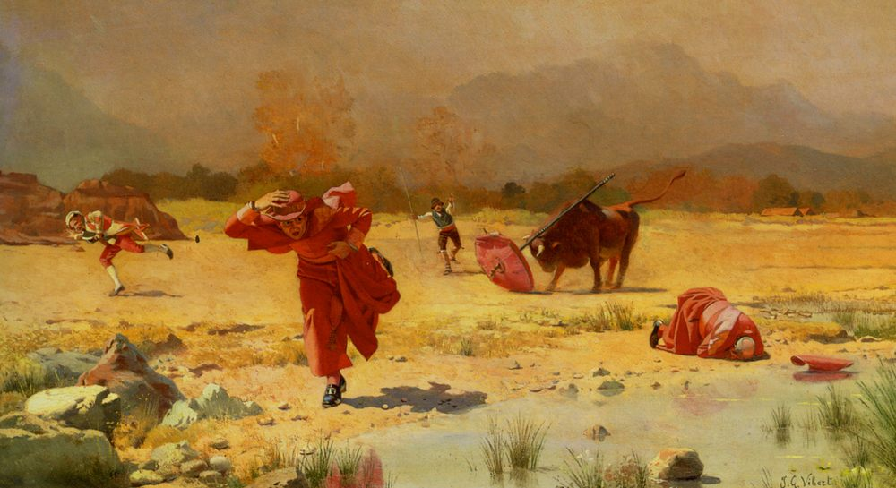 The Church In Danger :: Jehan Georges Vibert - New ����
