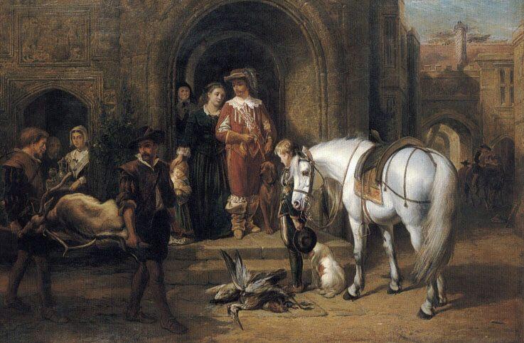Return of the Hunting Party :: George Earl - Hunting scenes ôîòî