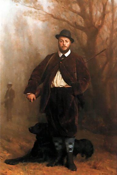 Portrait of Eduoard Delessert  :: Jean-Leon Gerome  - Hunting scenes фото