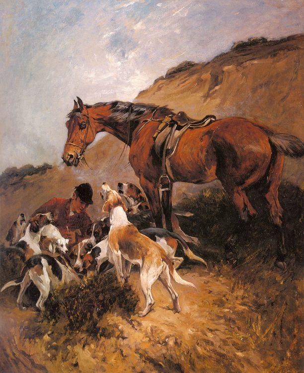 Gone To Ground :: John Emms - Hunting scenes ôîòî