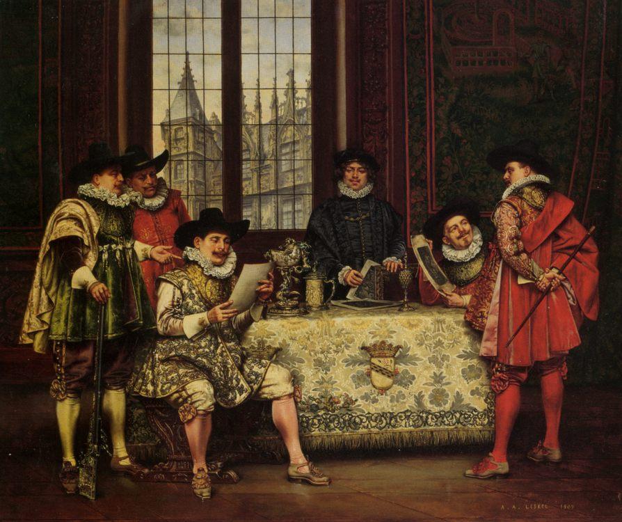 The Connoisseurs :: Adolphe Alexandre Lesrel - Rich interiors ôîòî