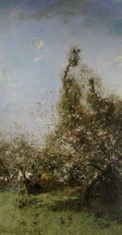 Spring Landscape :: Leon Germain Pelouse - Summer landscapes and gardens ôîòî