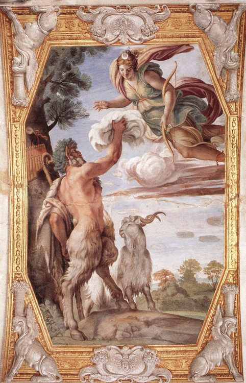 Homage to Diana :: Annibale Carracci - mythology and poetry фото