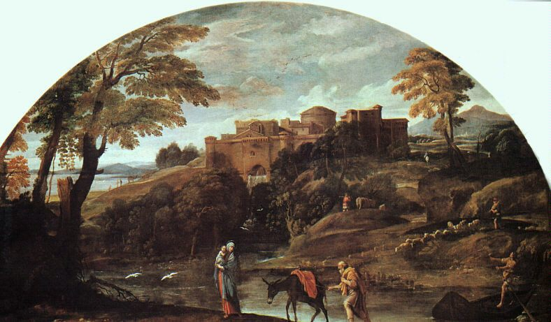 The Flight into Egypt :: Annibale Carracci - mythology and poetry ôîòî