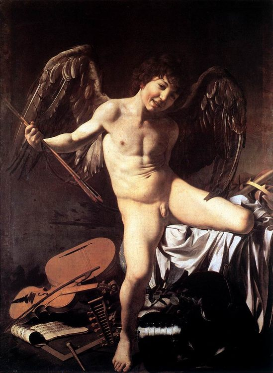 Amor Victorious :: Caravaggio - mythology and poetry ôîòî