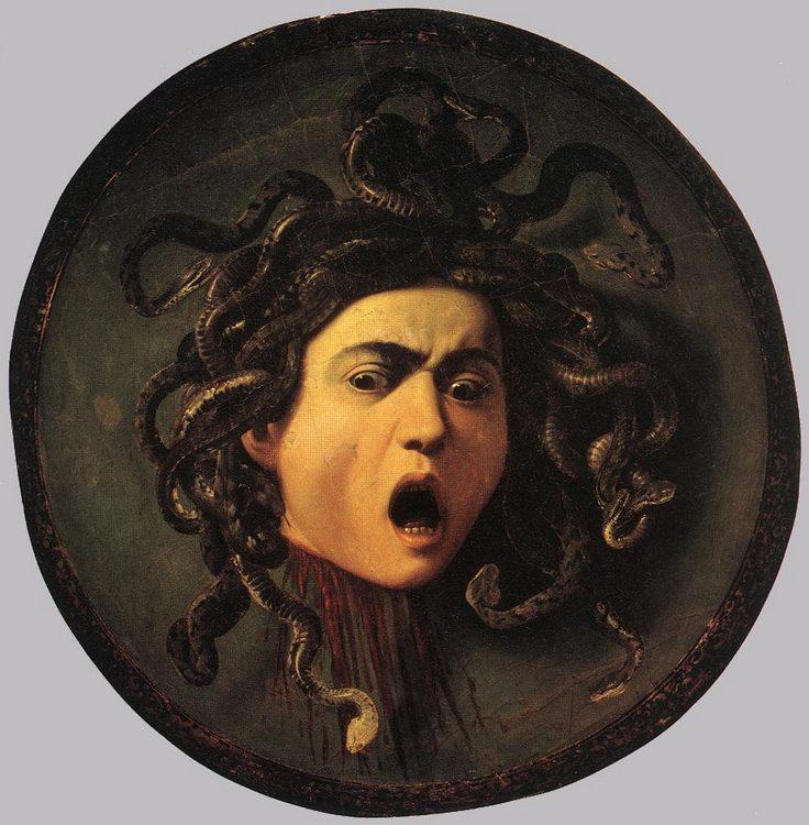 Medusa :: Caravaggio  - mythology and poetry фото
