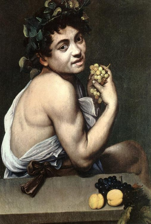 Sick Bacchus :: Caravaggio - mythology and poetry фото