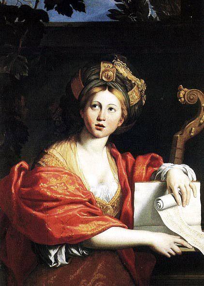 Sibyl :: Domenichino - mythology and poetry фото