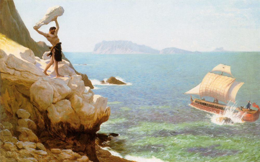 Polyphemus :: Jean-Leon Gerome - mythology and poetry фото