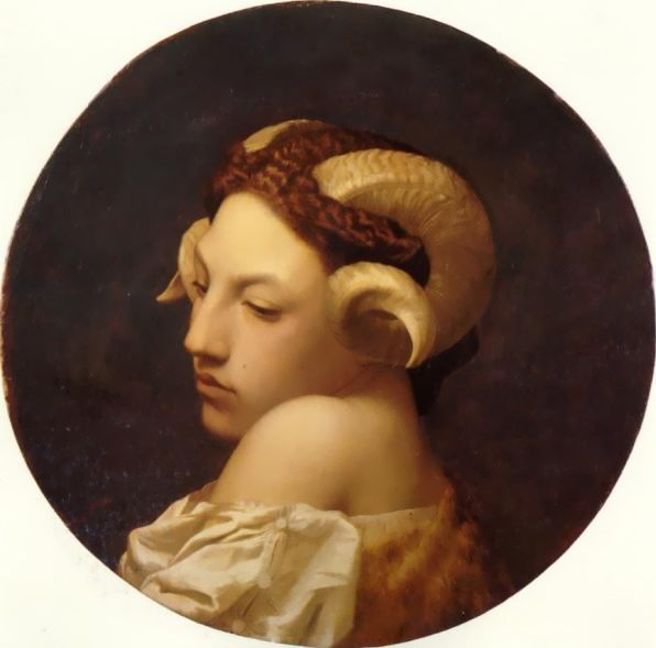 The Bacchante :: Jean-Leon Gerome - mythology and poetry фото