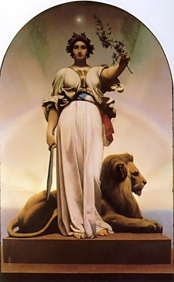 The Republic :: Jean-Leon Gerome - Allegory in art and painting ôîòî