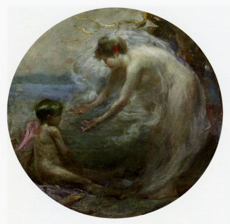 Venus And Cupid :: Robert Fowler - mythology and poetry фото