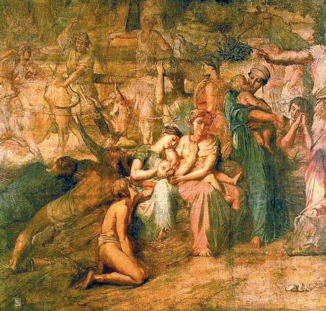 Peace :: Thiodore Chassiriau - Allegory in art and painting ôîòî