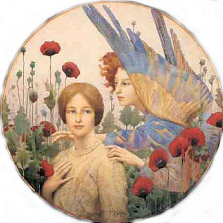 The Message :: Thomas Cooper Gotch - Fantasy in art and painting ôîòî