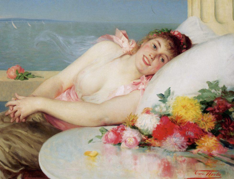 Dolce Far Niente :: Leon Herbo - Romantic scenes in art and painting ôîòî