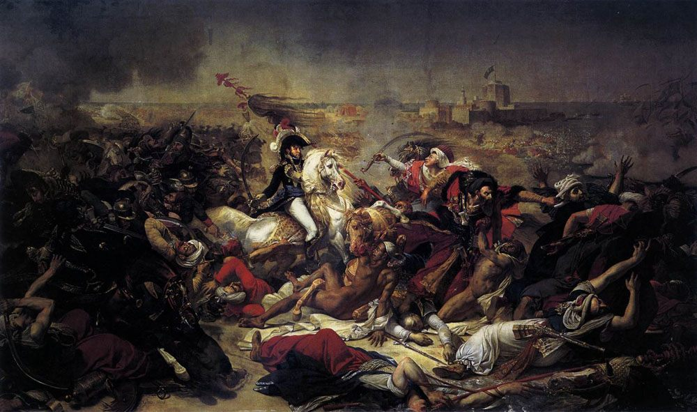 The Battle of Abukir :: Antoine-Jean Gros - History painting фото