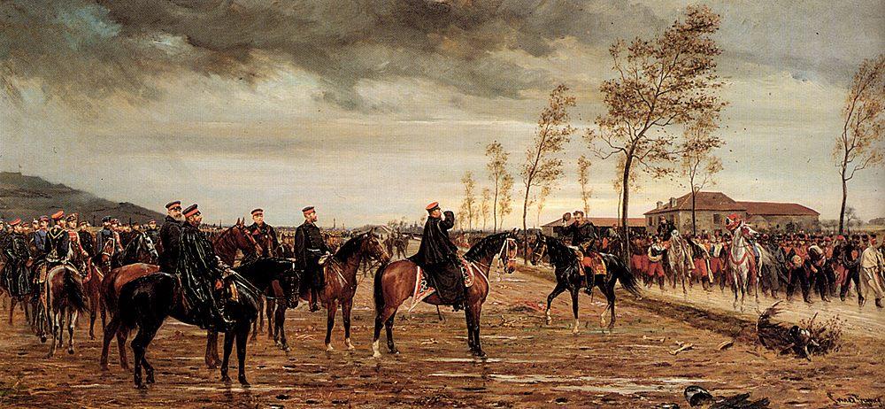 Ubergabe Von Metz :: Conrad Freyberg - History painting ôîòî