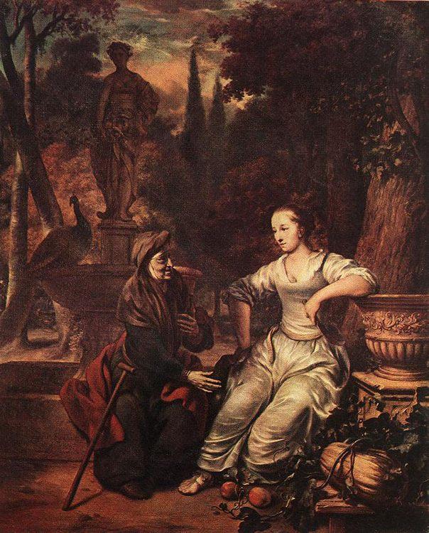 Vertumnus and Pomona :: Gerbrand van den Eeckhout - History painting фото