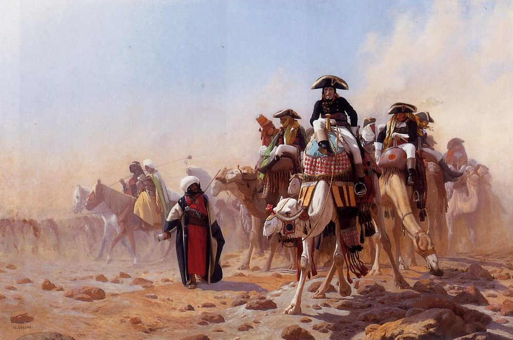 Napoleon and His General Staff :: Jean-Leon Gerome - History painting фото