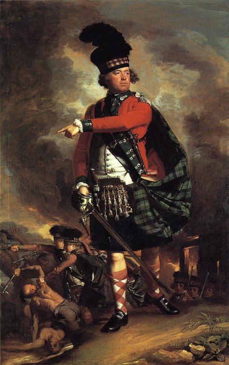 Major Hugh Montgomerie :: John Singleton Copley - History painting фото
