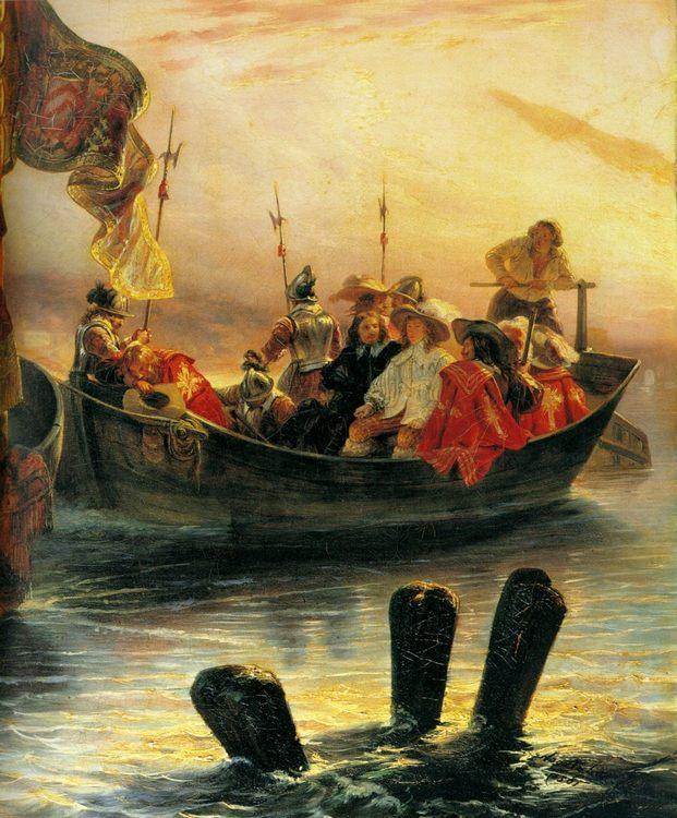 Cardinal Richelieu :: Paul Delaroche  - History painting фото