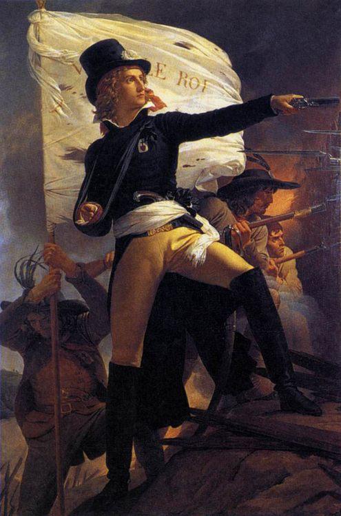 Henri de la Rochejaquelin :: Pierre-Narcisse Guerin - History painting фото