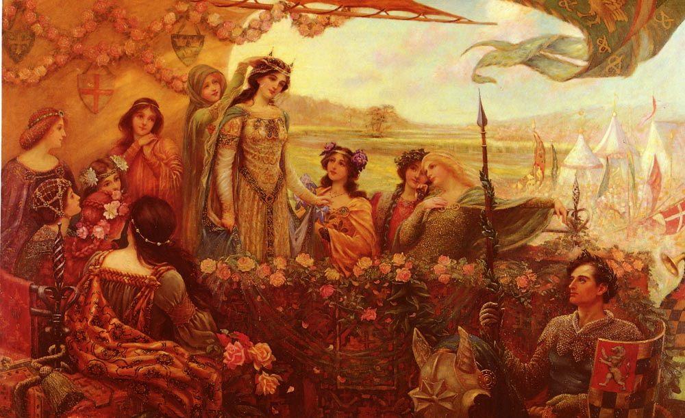 A Moment of Victory :: Pollie Clarke - History painting ôîòî