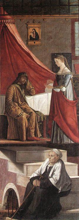 Arrival of the English Ambassadors [detail- 3] :: Vittore Carpaccio - History painting ôîòî