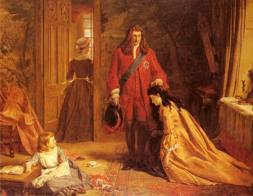 An Incident In tHe Life Of lady Mary Wortley Montague :: William Powell Frith  - History painting фото