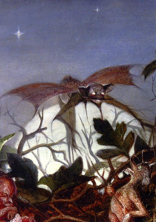 Fairies In A Bird's Nest (detail 3) :: John Anster Fitzgerald - Fantasy in art and painting фото
