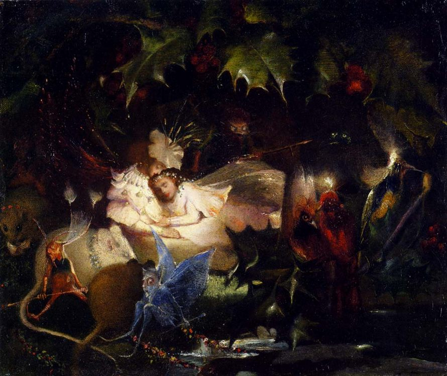 The Fairy Bower :: John Anster Fitzgerald - Fantasy in art and painting фото