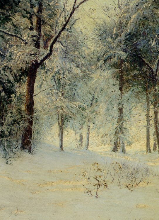 Sunshine After a Snowstorm :: Walter Launt Palmer - winter landscapes ôîòî