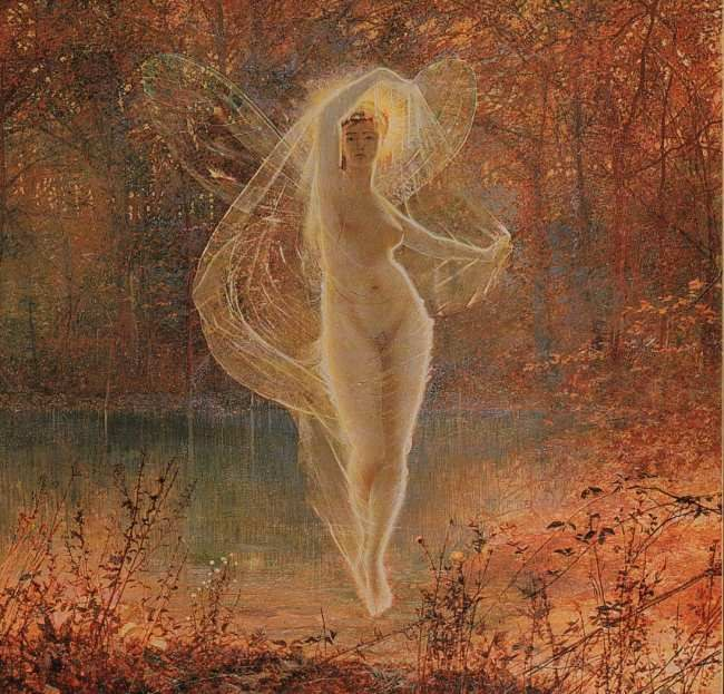 Autumn :: John Atkinson Grimshaw - Fantasy in art and painting фото