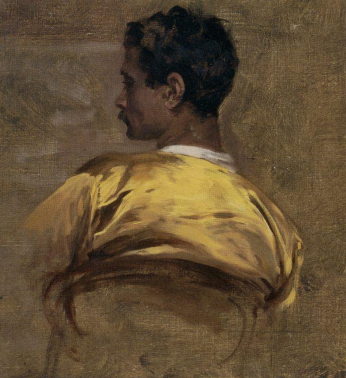 Study of an Arab :: Charles Bargue - men's portraits 19th century (first half) ôîòî