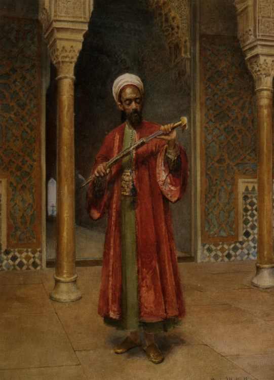 Arab Paris Guard :: Maria Martinetti - scenes of Oriental life ( Orientalism) in art and painting фото