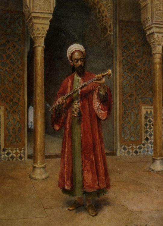 Arab Paris Guard :: Maria Martinetti - scenes of Oriental life (Orientalism) in art and painting ôîòî