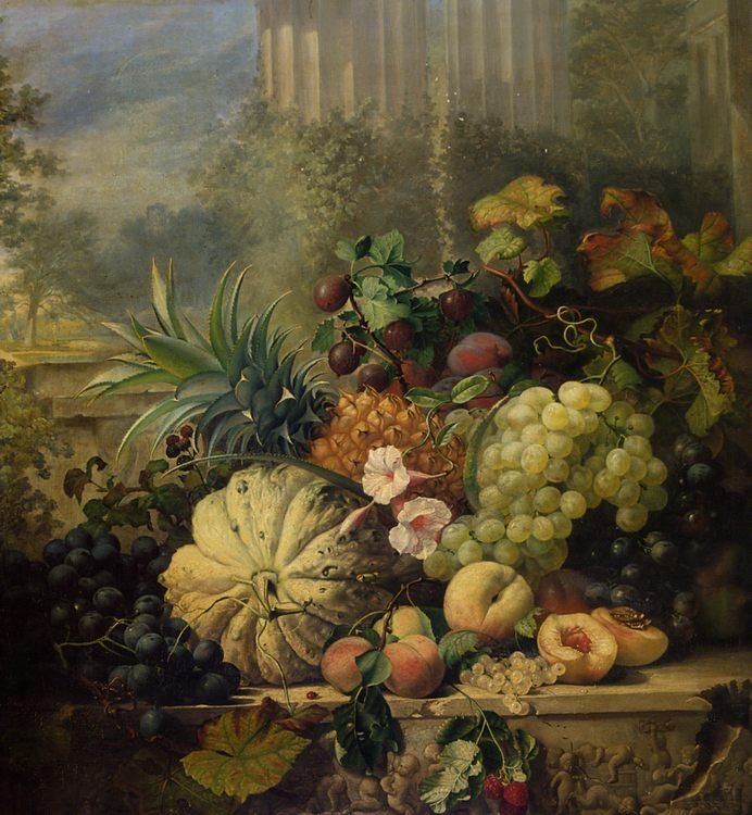Fruit Painted from Nature :: Eloise Harriet Stannard - Still-lives with fruit ôîòî