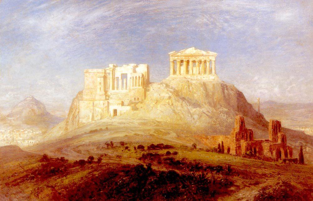 The Acropolis, Athens :: Ernst Carl Eugen Koerner - Ruins фото