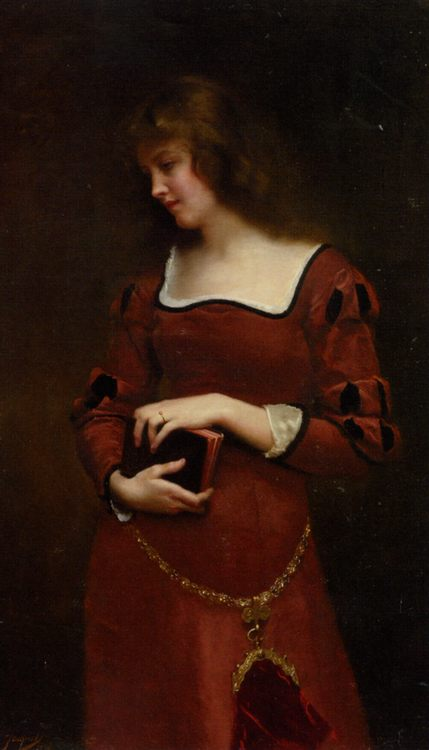 Wistful Thoughts :: Gustave Jean Jacquet - 7 female portraits ( the end of 19 centuries ) in art and painting ôîòî