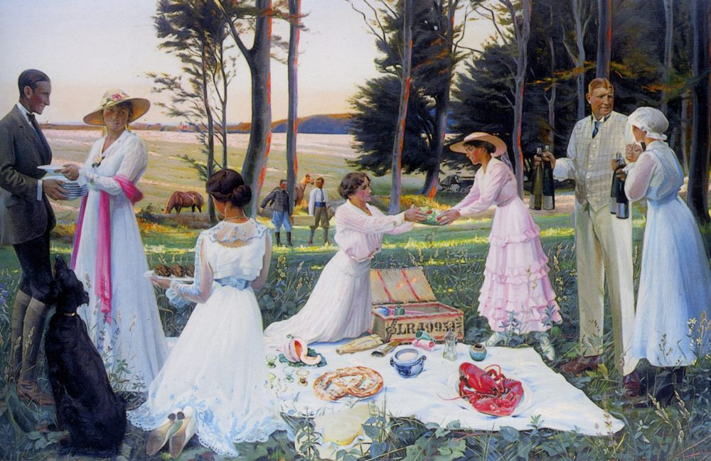The Afternoon Picnic :: Harald Slott-Moller - Picnic ôîòî