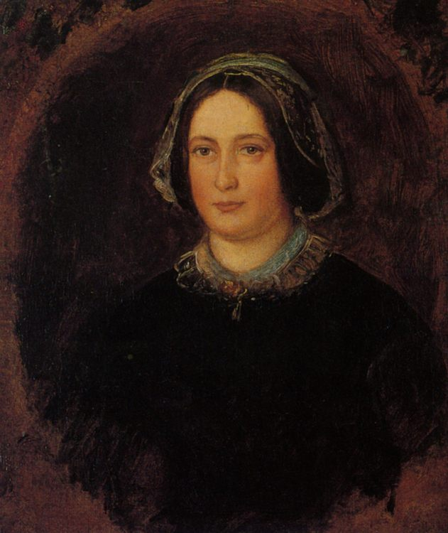 Portrait of Mrs William Evamy The Artists Aunt :: John Everett Millais  - 7 female portraits ( the end of 19 centuries ) in art and painting фото