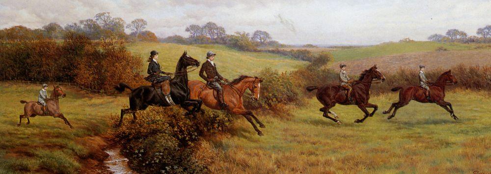 A Short Cut Home :: John Frederick Lewis - Horses in art фото