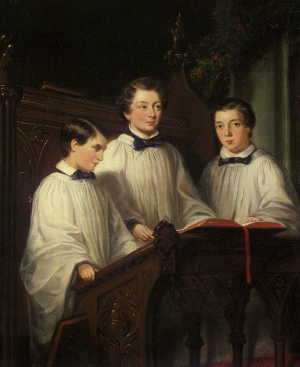 Charity  :: Joseph Clark - Portraits of young boys ôîòî