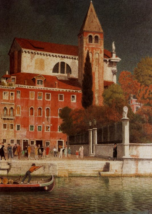 San Vitale Venice :: Joseph Edward Southall - Venice фото