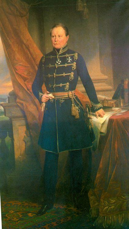 King Wilhelm I  :: Joseph Karl Stieler - men's portraits 19th century фото