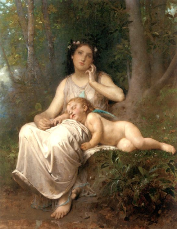 Love and Innocence :: Leon Bazile Perrault - Allegory in art and painting ôîòî